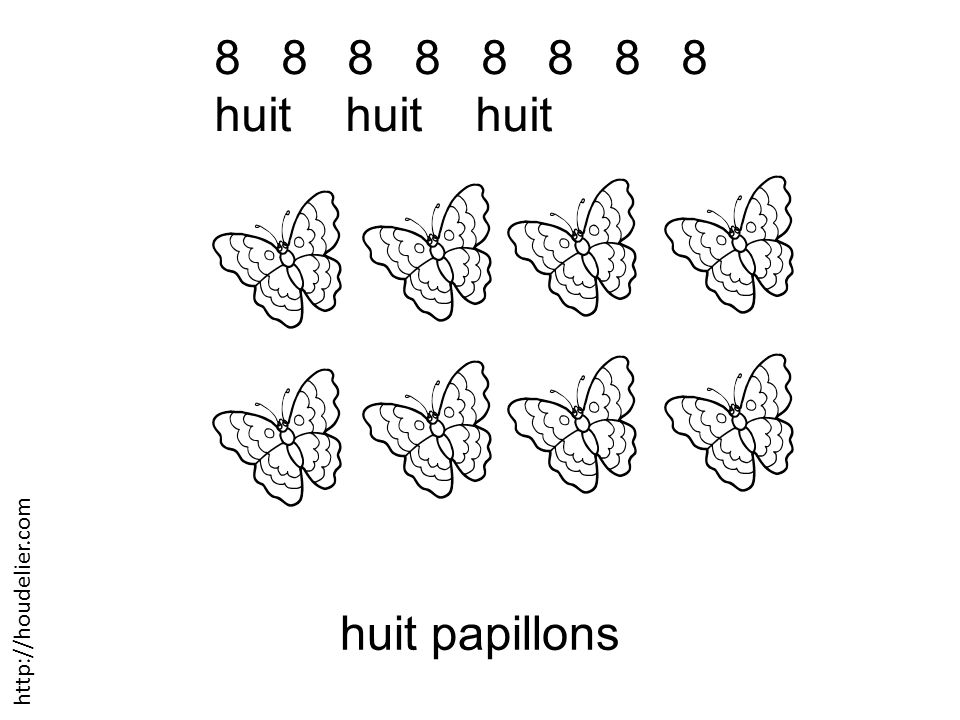 8 8 8 8 huit huit huit huit papillons http://houdelier.com