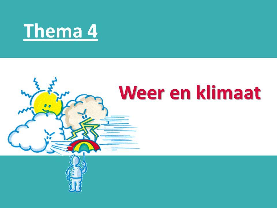 d Weer en klimaat Thema 4