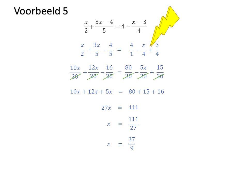 Voorbeeld 5 111