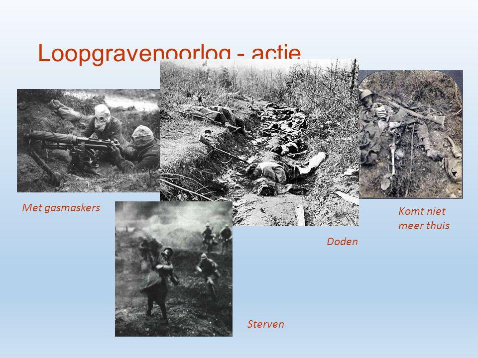 Loopgravenoorlog - actie Over the top