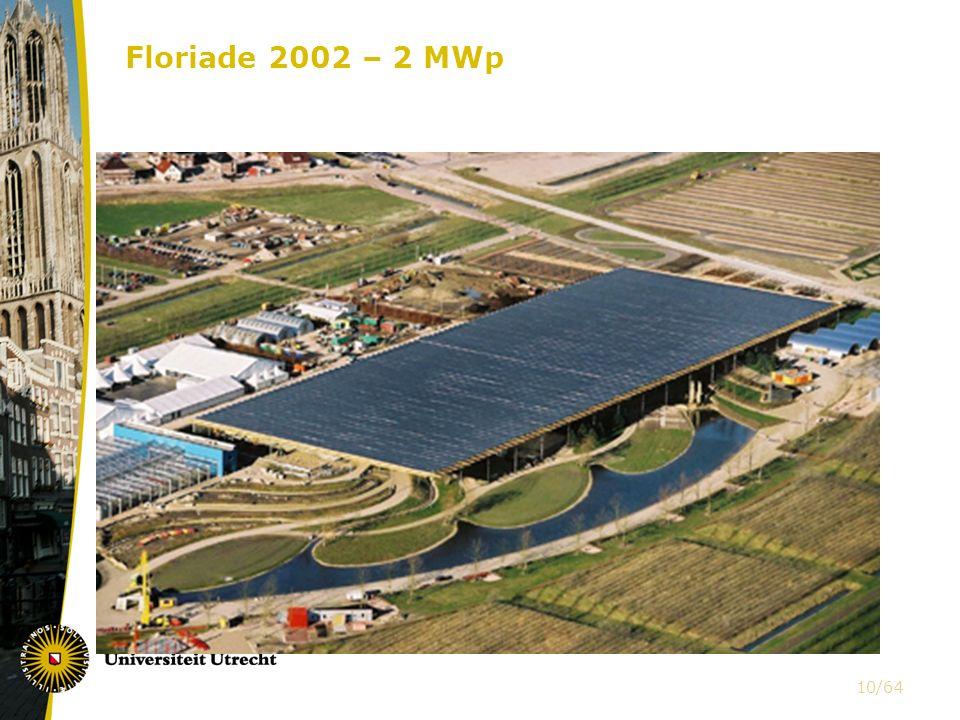 Floriade 2002 – 2 MWp 10/64
