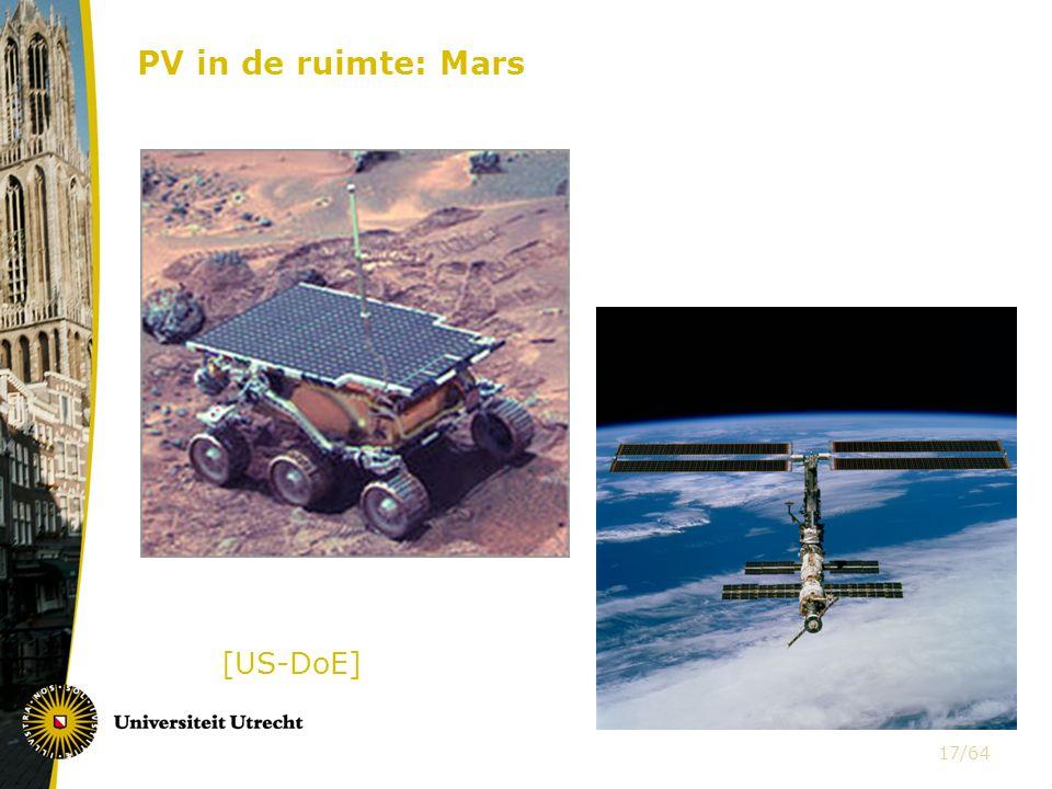 [US-DoE] PV in de ruimte: Mars 17/64