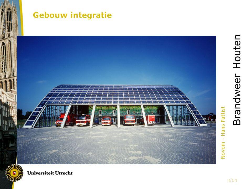Gebouw integratie Novem - Hans Pattist Brandweer Houten 8/64