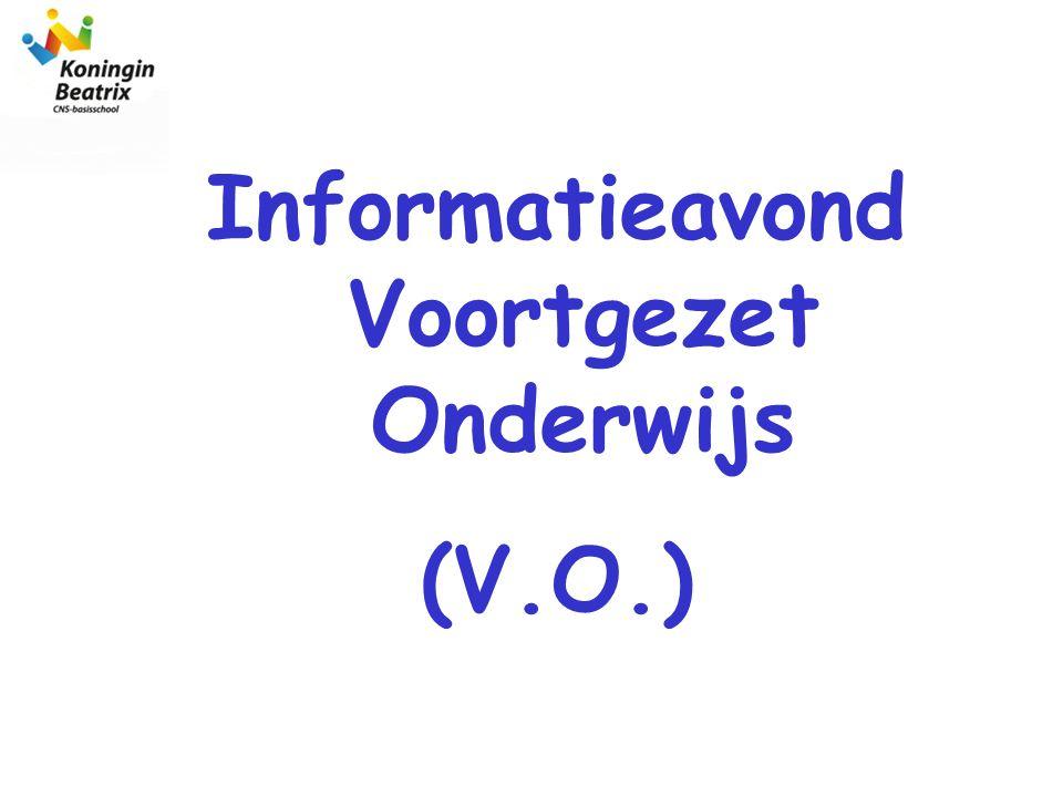 Informatieavond Voortgezet Onderwijs (V.O.)