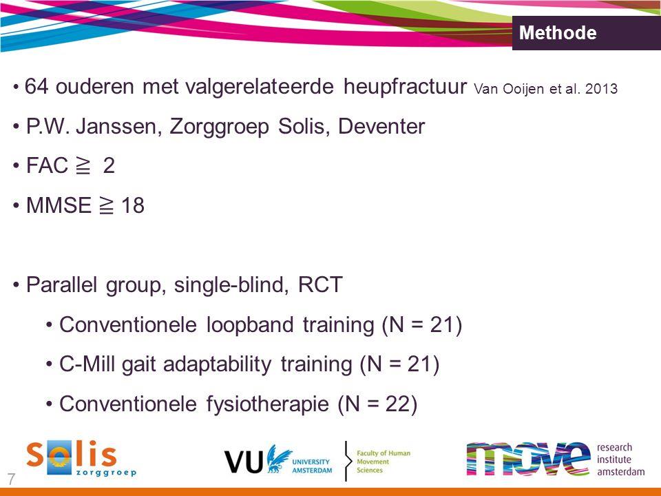 Methode 64 ouderen met valgerelateerde heupfractuur Van Ooijen et al.