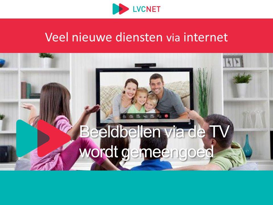 Beeldbellen via de TV wordt gemeengoed Veel nieuwe diensten via internet