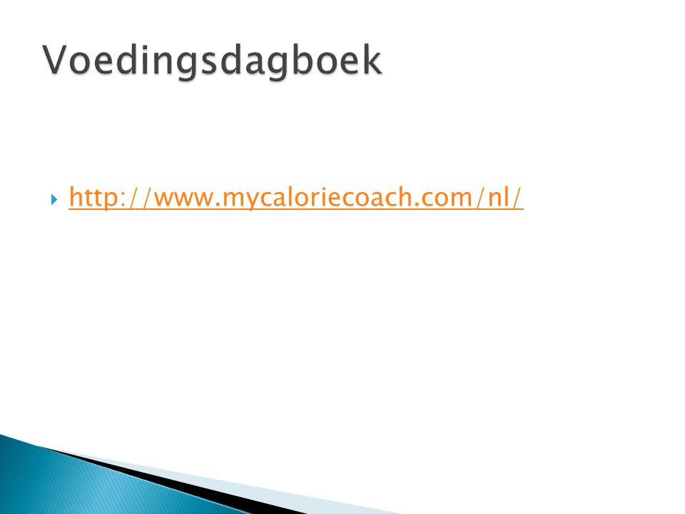 http://www.mycaloriecoach.com/nl/ http://www.mycaloriecoach.com/nl/