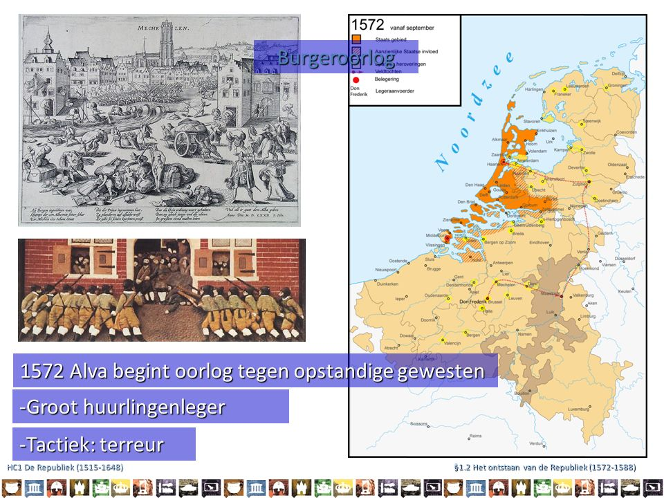 Hertog van Anjou Willem van Oranje Elizabeth I- Koningin van Engeland en Ierland Wie wordt nu de nieuwe machthebber ( souverein) van de Republiek ?