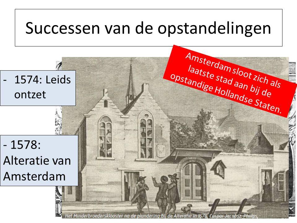 1575: Spanje was bankroet Gevolg: De Spaanse troepen moesten wachten op hun loon Hierdoor werden de Spaanse soldaten opstandig en gingen muiten: De Spaanse furie 1576: De plundering van Antwerpen Wat is de reactie van de zuidelijke Nederlanden, die tot nu toe Spanje hadden gesteund?