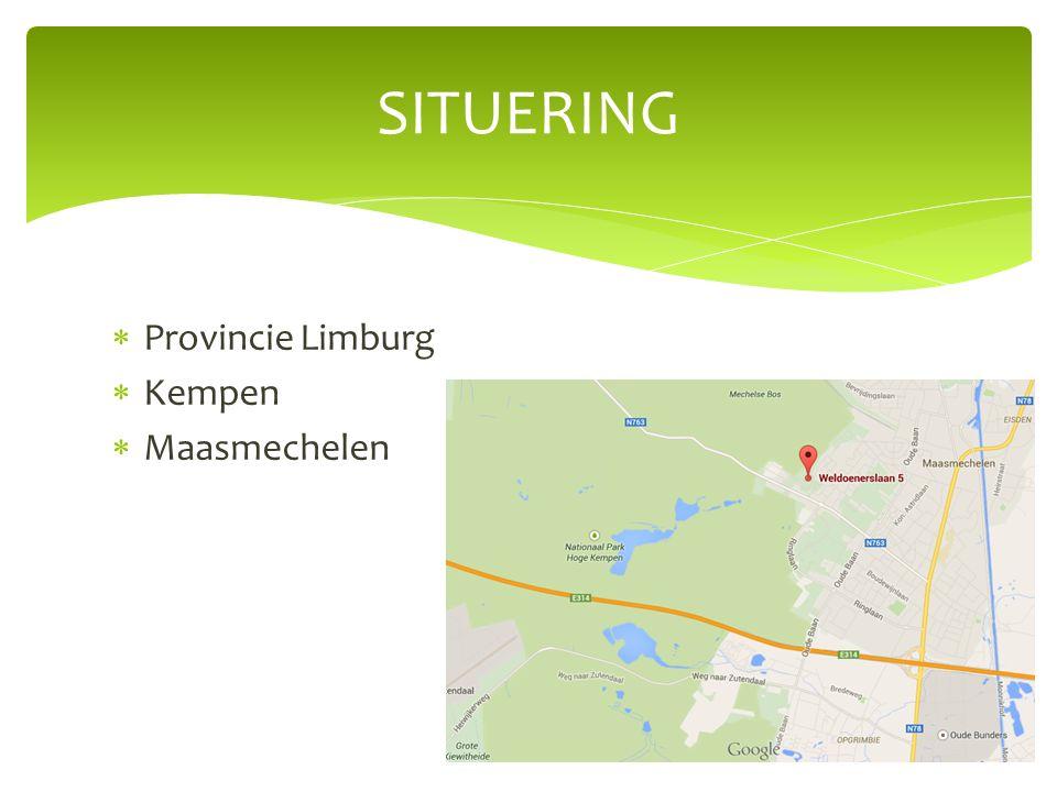  Provincie Limburg  Kempen  Maasmechelen SITUERING