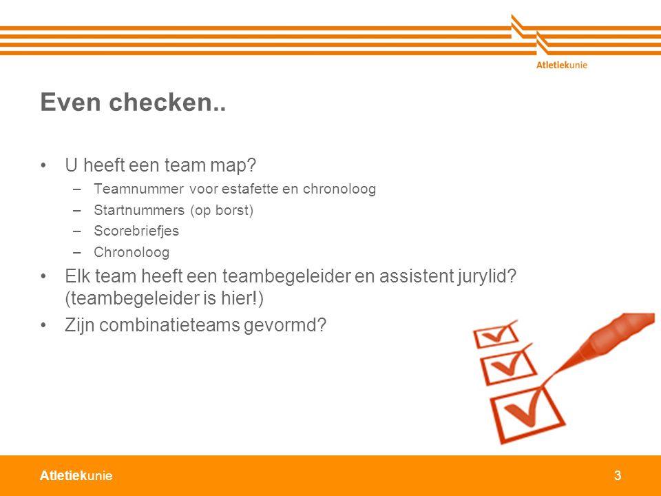 Atletiekunie3 Even checken..U heeft een team map.
