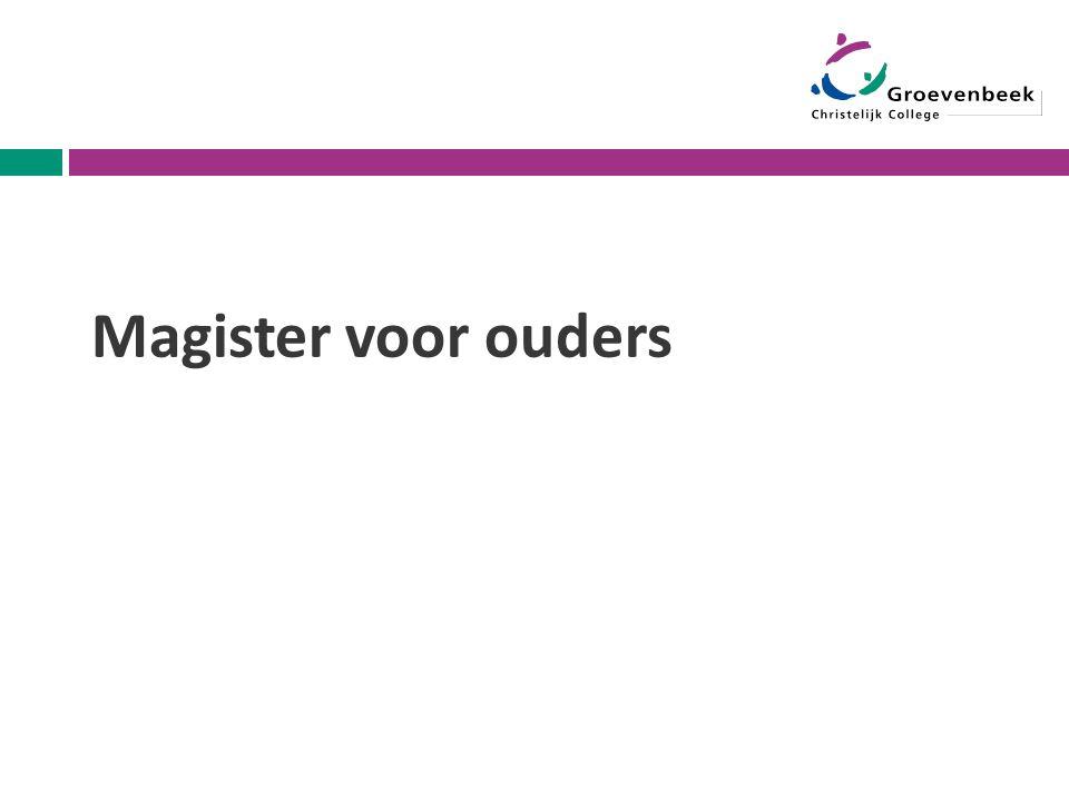 Magister voor ouders