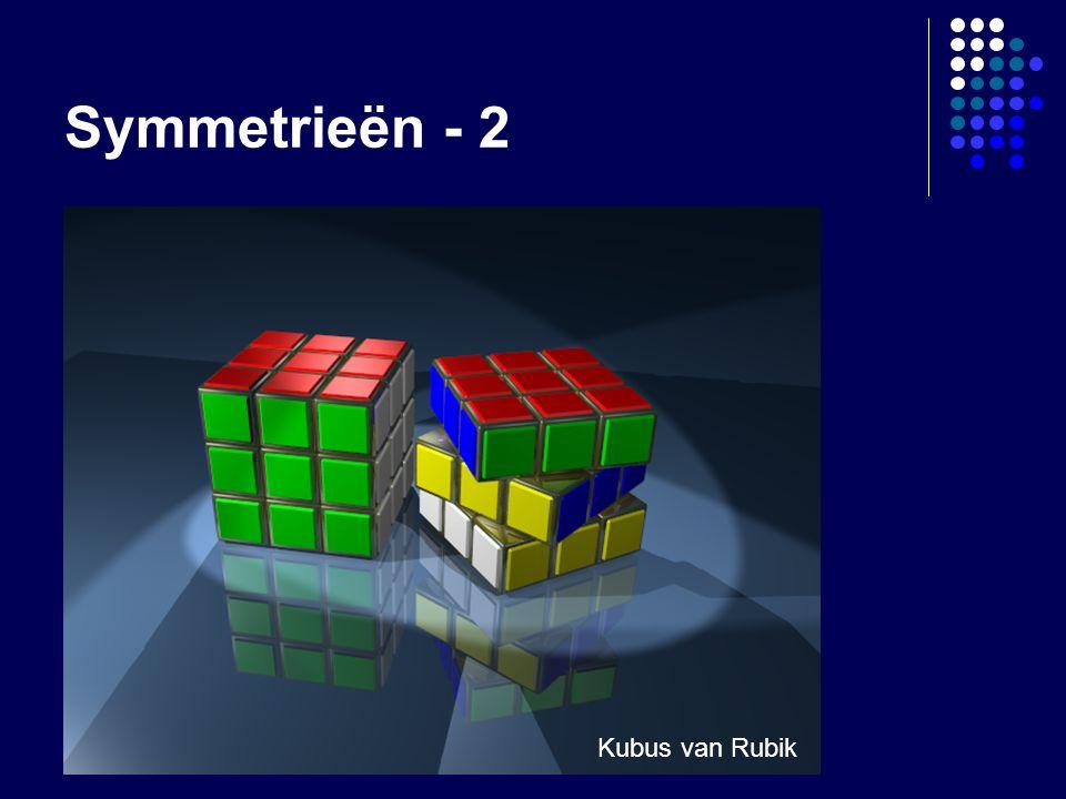 Symmetrieën - 2 Kubus van Rubik