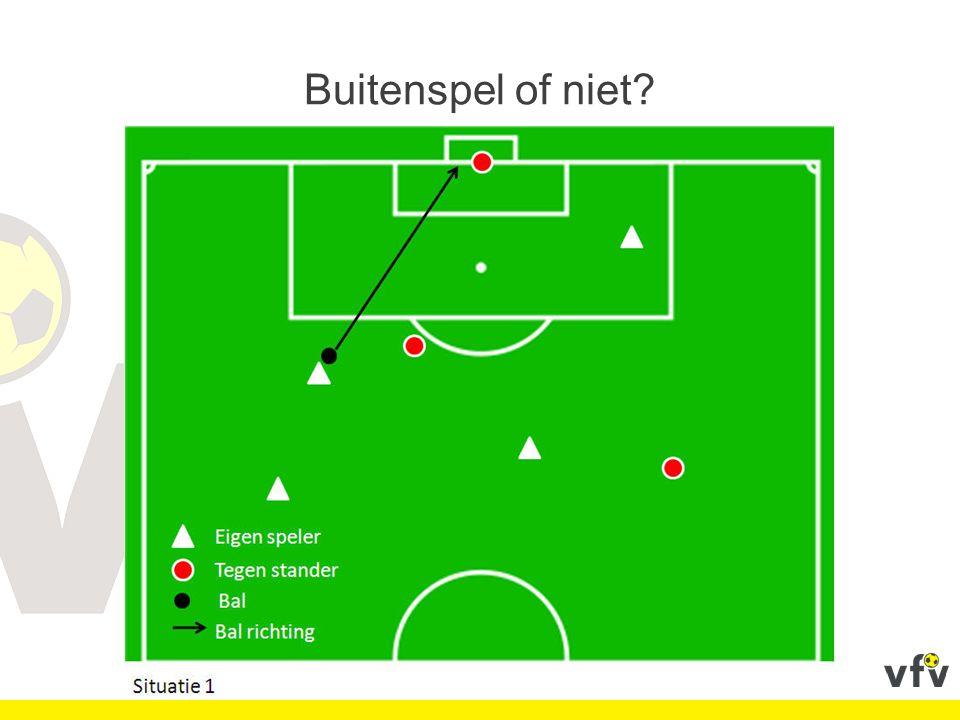 Situatie V Een niet-effectieve speler slaat een effectieve speler.