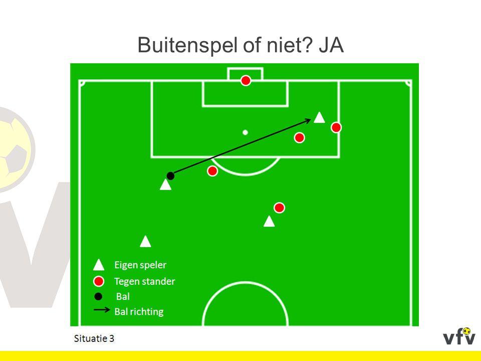 De afstandsfouten: werpen of spuwen Indien een doelman in zijn eigen strafschopgebied met een voorwerp naar de bal werpt en deze raakt, wordt hij bestraft met een gele kaart.
