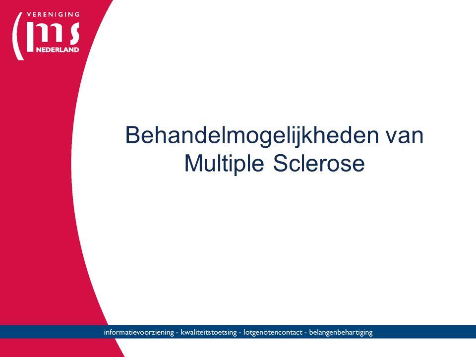 Behandelmogelijkheden van Multiple Sclerose