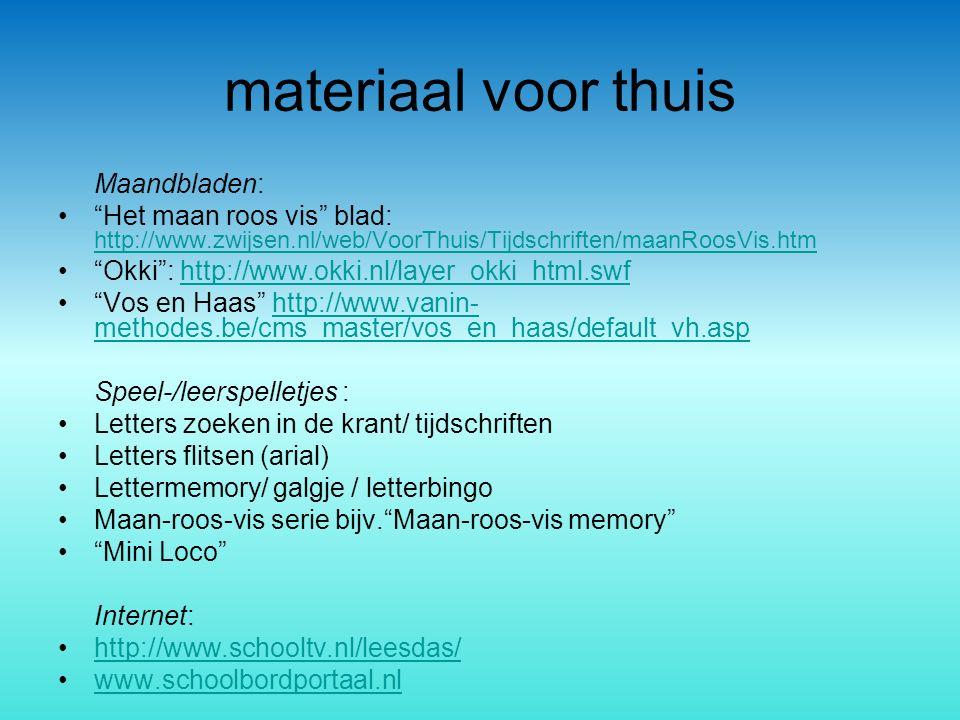 """materiaal voor thuis Maandbladen: """"Het maan roos vis"""" blad: http://www.zwijsen.nl/web/VoorThuis/Tijdschriften/maanRoosVis.htm http://www.zwijsen.nl/we"""