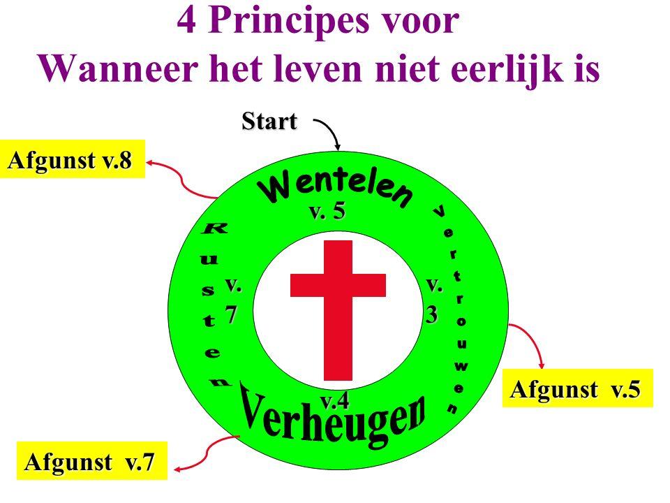 Afgunst v.8 Afgunst v.7 Afgunst v.5 Start 4 Principes voor Wanneer het leven niet eerlijk is v. 5 v.3 v.4 v.7