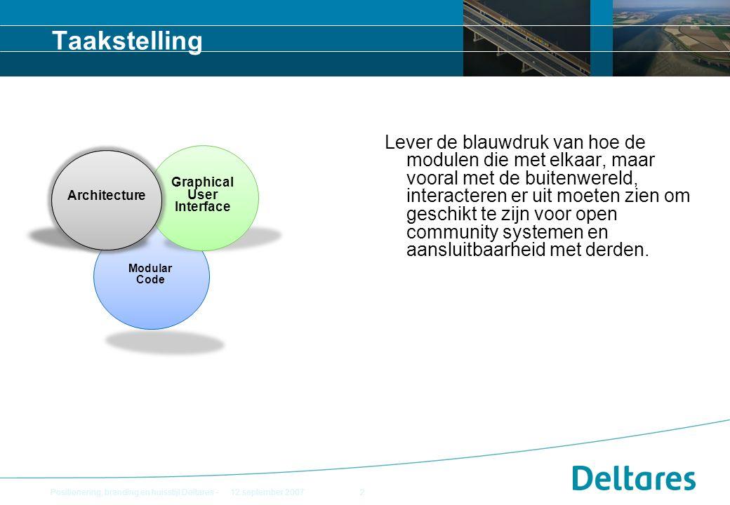 Fileformaten NetCDF als standaard uitvoer NetCDF