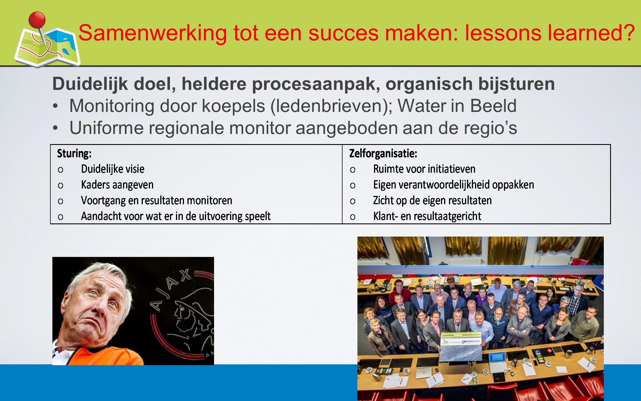 27 februari 201312 Samenwerking tot een succes maken: lessons learned.