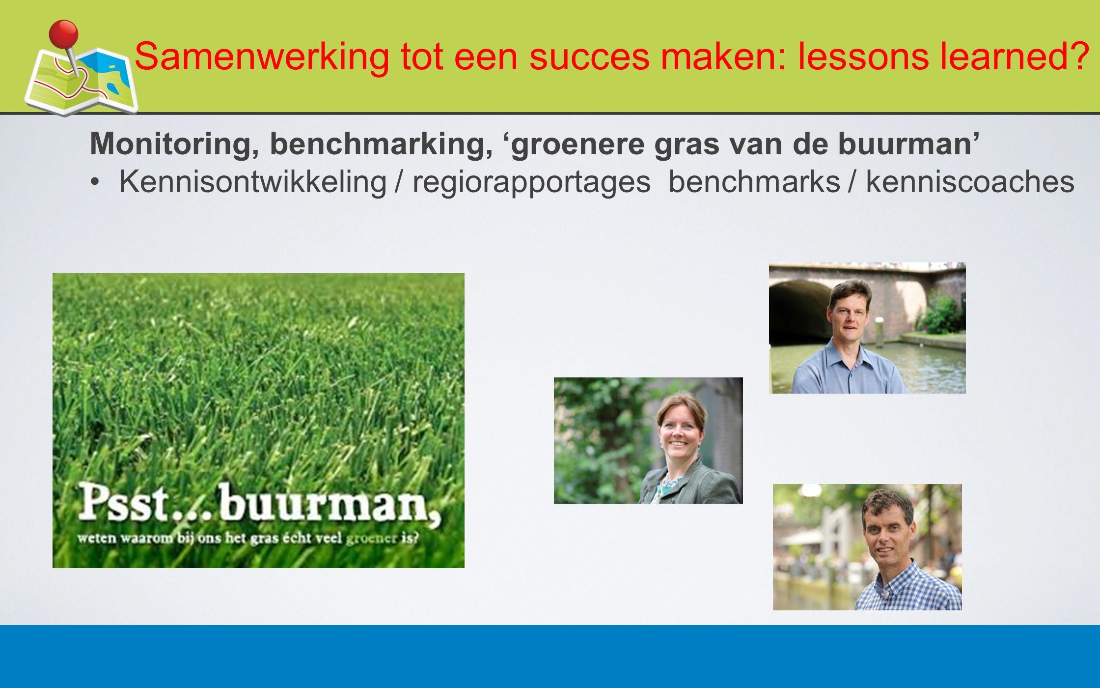 27 februari 201316 Samenwerking tot een succes maken: lessons learned.