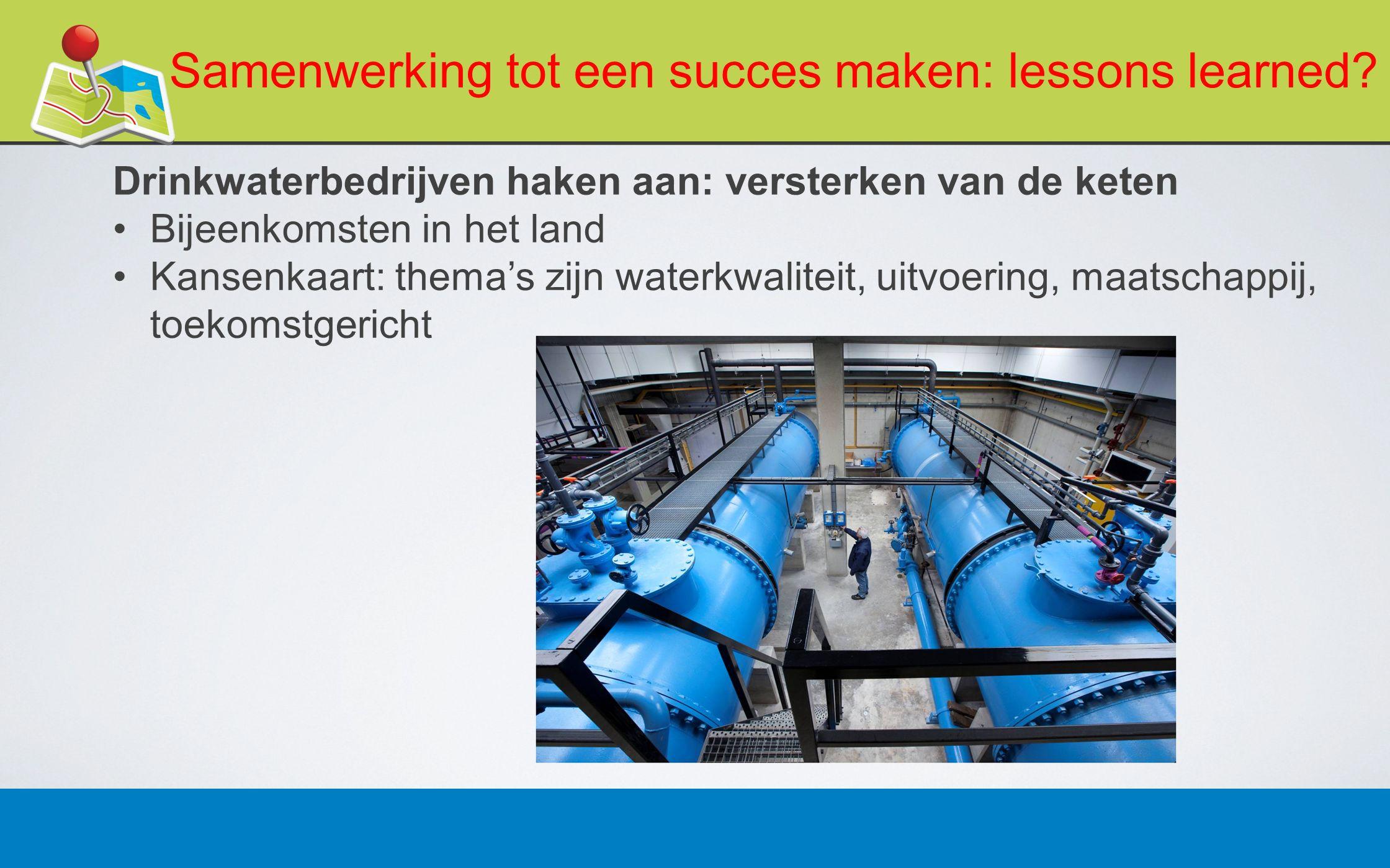 27 februari 201318 Samenwerking tot een succes maken: lessons learned.