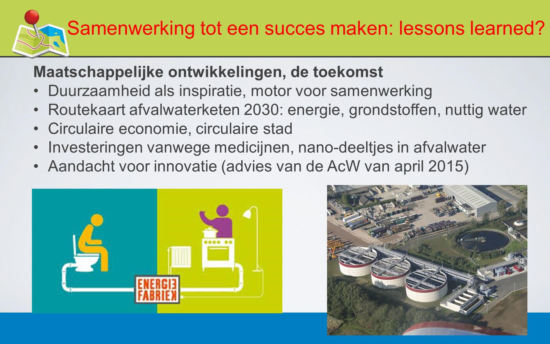 27 februari 201319 Samenwerking tot een succes maken: lessons learned.
