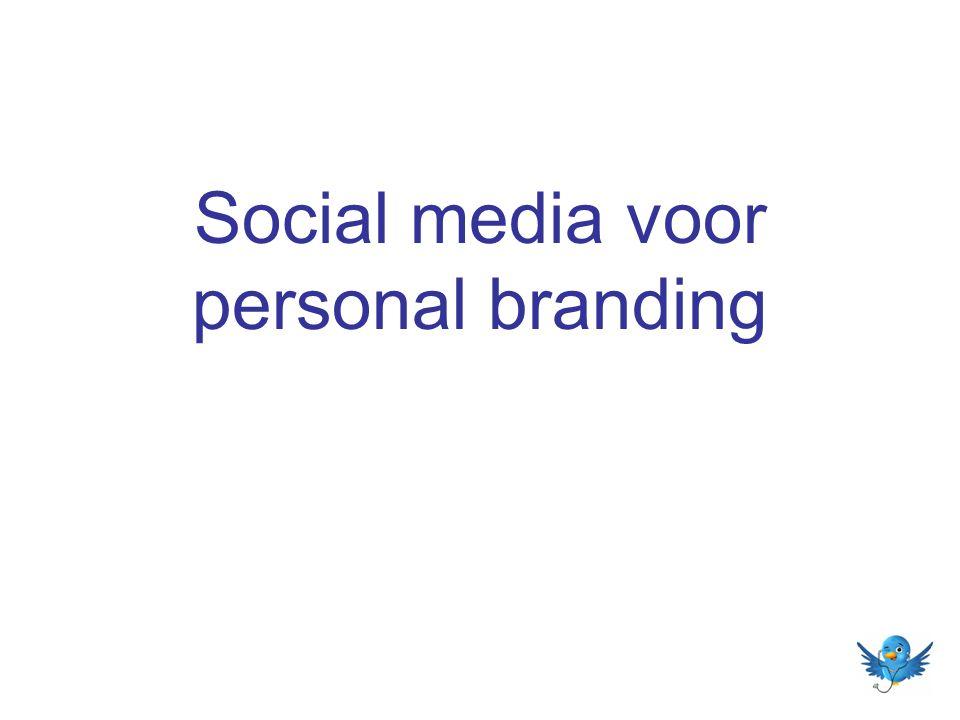 Social media voor personal branding