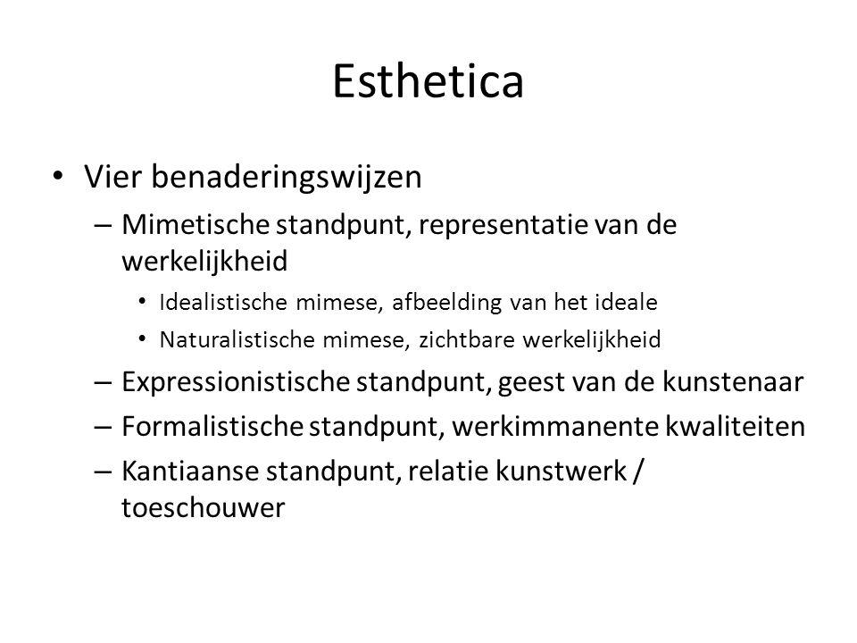 Esthetica Wat is schoonheid – Van de natuur.– Van kunst.