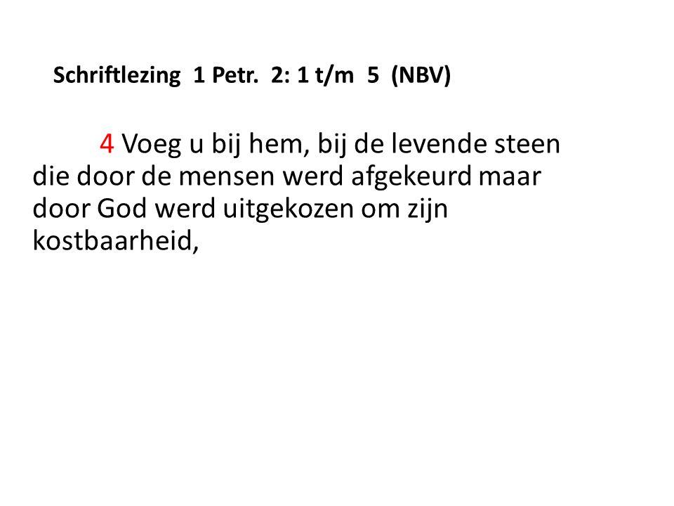 Schriftlezing 1 Petr.