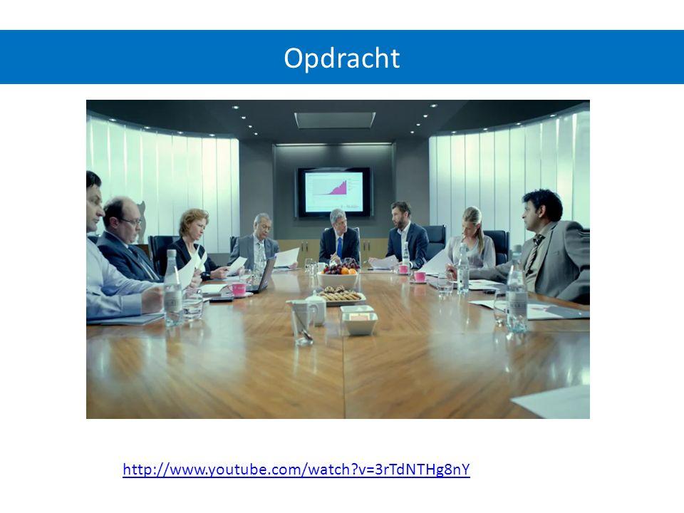 http://www.youtube.com/watch?v=3rTdNTHg8nY Opdracht