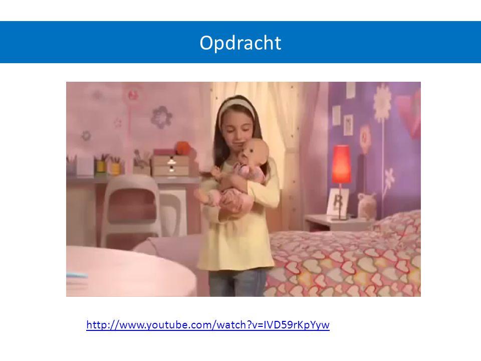 http://www.youtube.com/watch?v=IVD59rKpYyw Opdracht