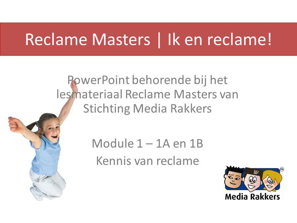 Reclame Masters | Ik en reclame.