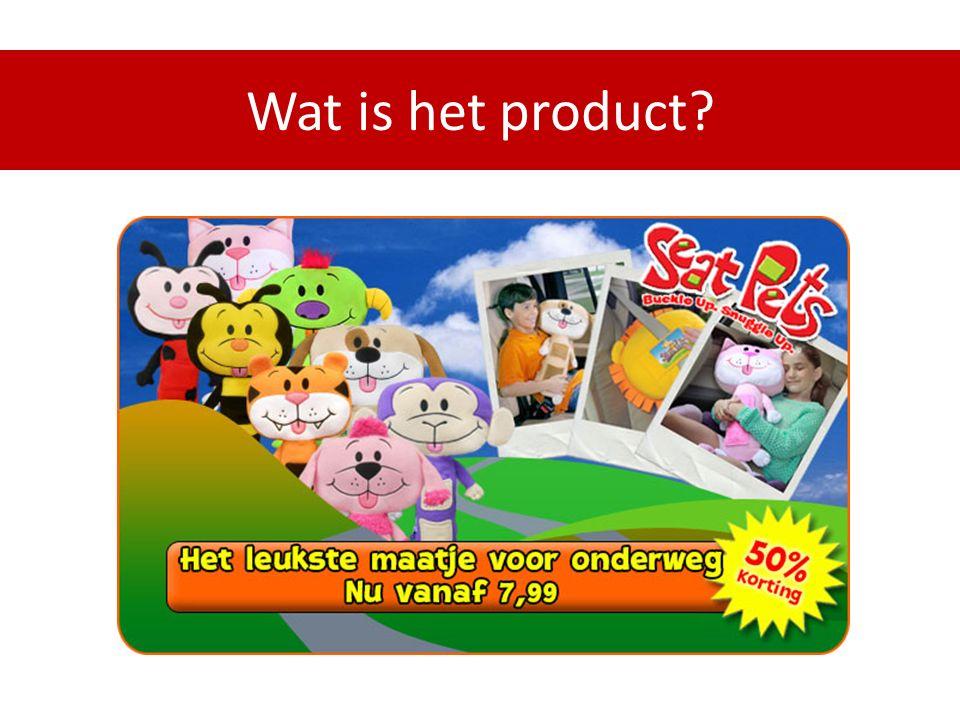 Wat is het product?