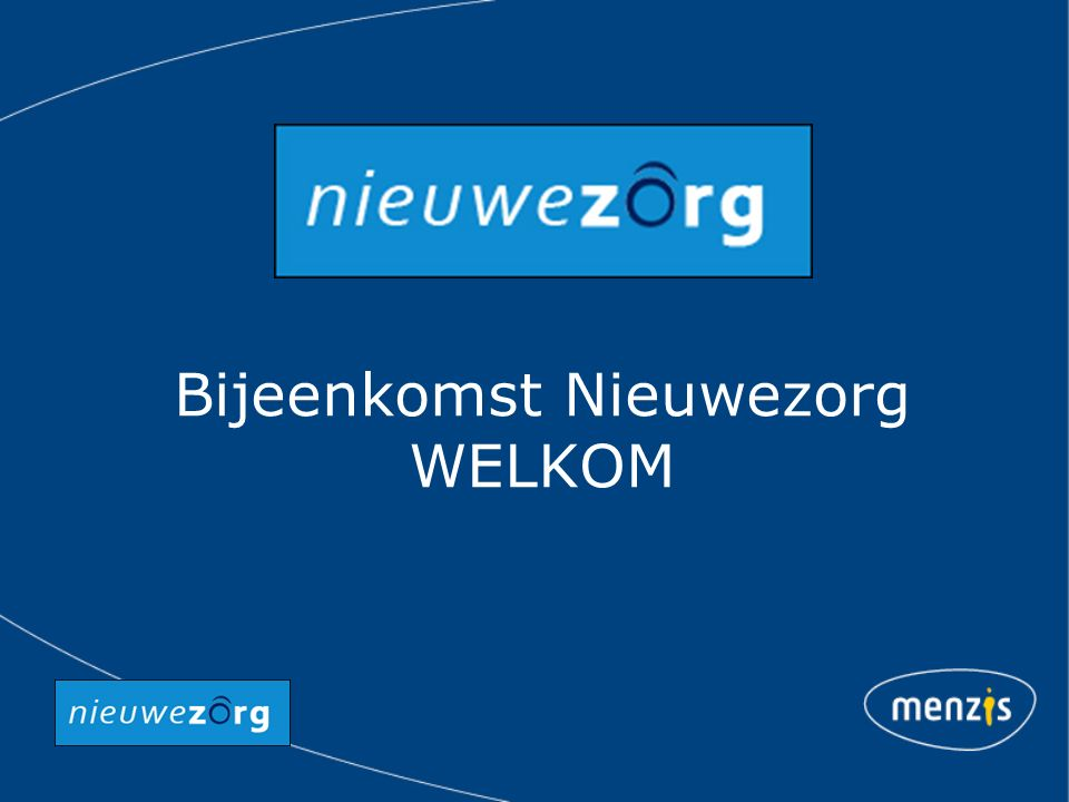 Bijeenkomst Nieuwezorg Bas Leerink, Raad van Bestuur Menzis 23 mei 2012 in Den Haag
