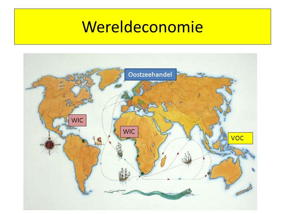 Wereldeconomie VOC WIC Oostzeehandel