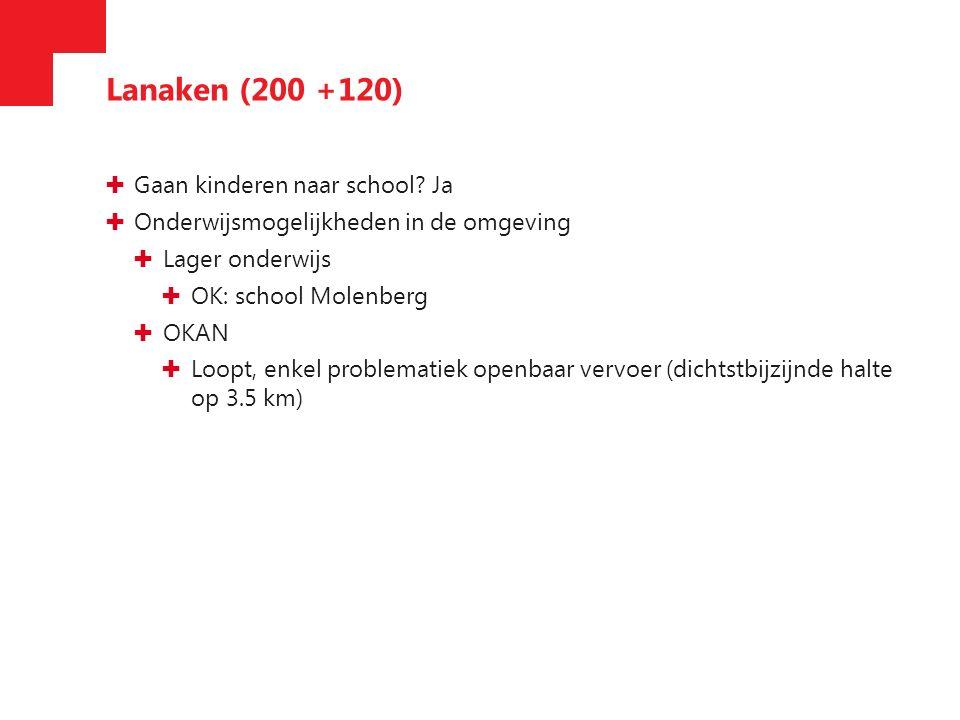 Houthalen-Helchteren (600) ✚ Gaan kinderen naar school.