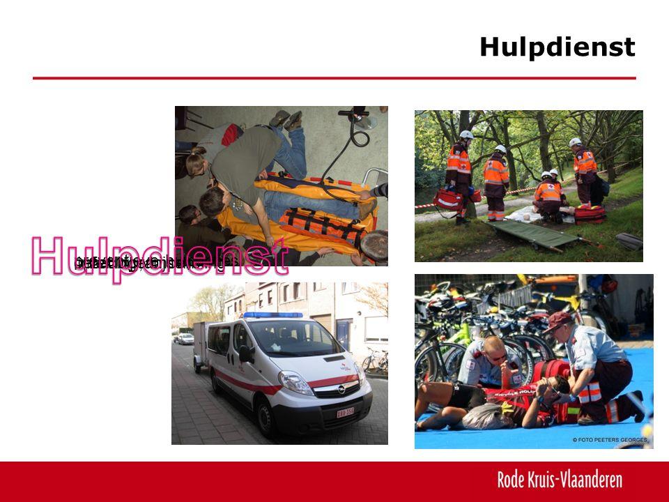 Hulpdienst opleiding, bijscholing oefeningen preventieve hulpacties inzet bij rampen
