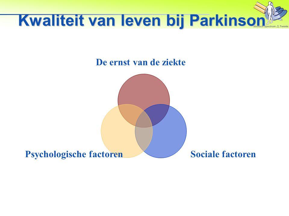 Parkinson dementie Is niet hetzelfde als Alzheimer.