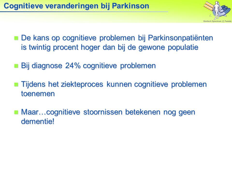 Medisch Spectrum Twente, Enschede 2. Parkinson en emoties