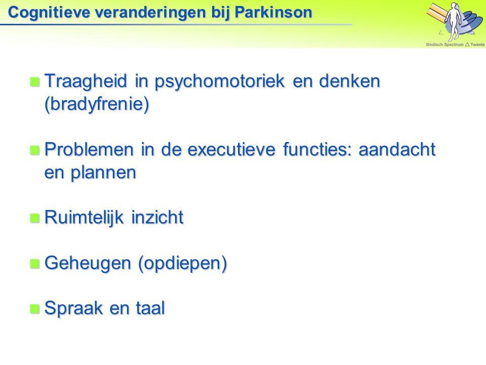 Gevolgen van Parkinson voor de communicatie: Bewegen Gezichtsmimiek Gezichtsmimiek Taalexpressie Taalexpressie Lichaamshouding Lichaamshouding Tempo TempoOnderzoek: Parkinson patiënten gezien als minder geïnteresseerd, minder betrokken, minder gelukkig en minder vriendelijk (Marc Pell, 2010)