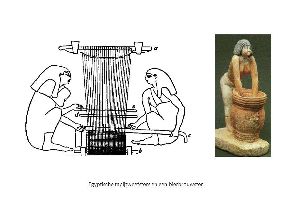 Een harpspeler, een luitspeler en een dame met een frame-drum.