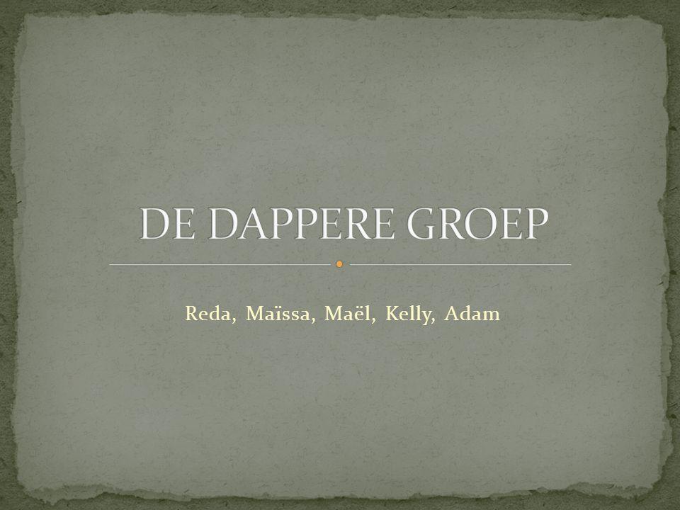 Reda, Maïssa, Maël, Kelly, Adam