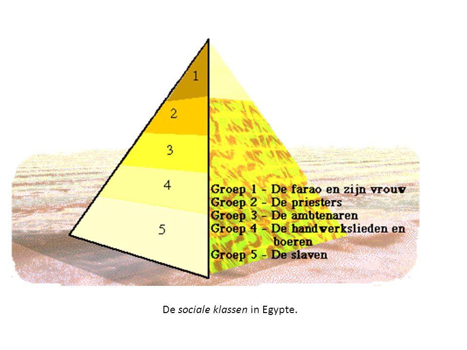 De sociale klassen in Egypte.