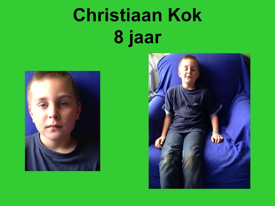 Christiaan Kok 8 jaar