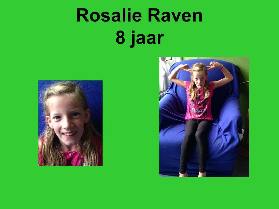 Rosalie Raven 8 jaar