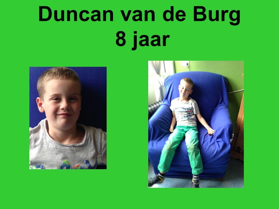 Duncan van de Burg 8 jaar