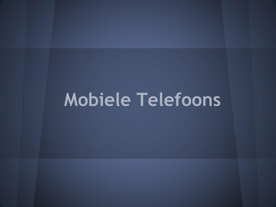Bijna iedereen heeft nu ook een mobieletelefoon.