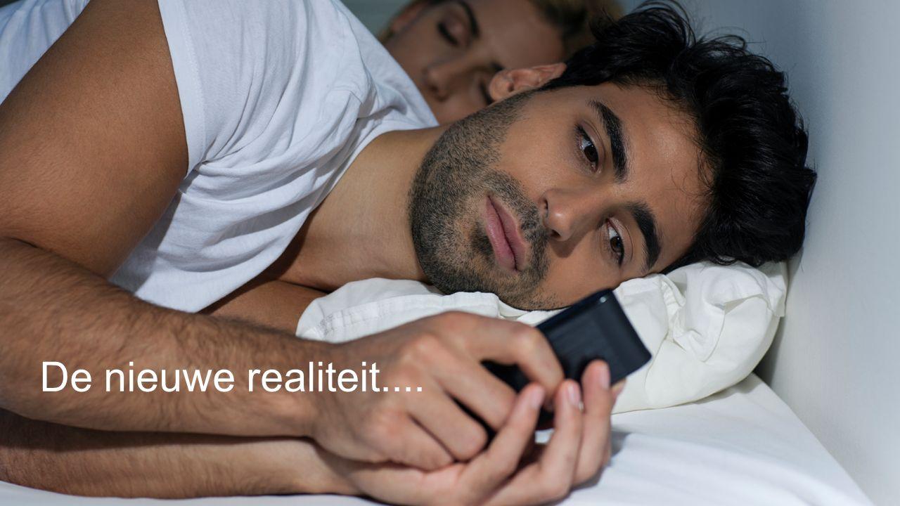 De nieuwe realiteit....