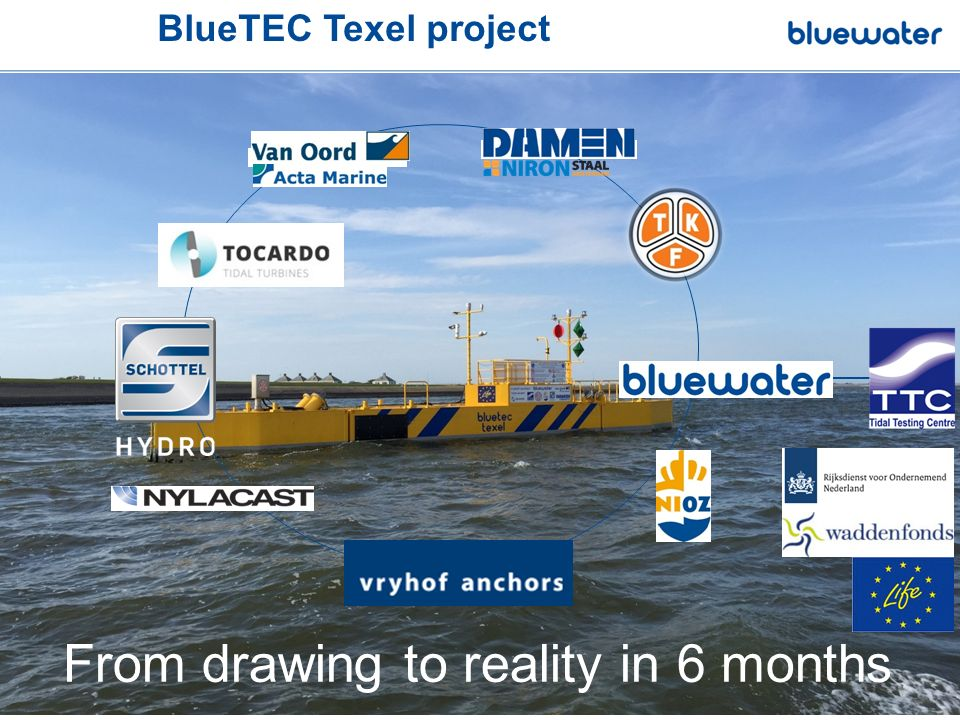 From drawing to reality in 6 months BlueTEC Texel project